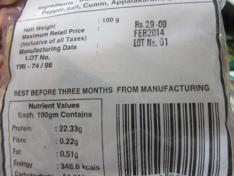 Food product dating rules in california