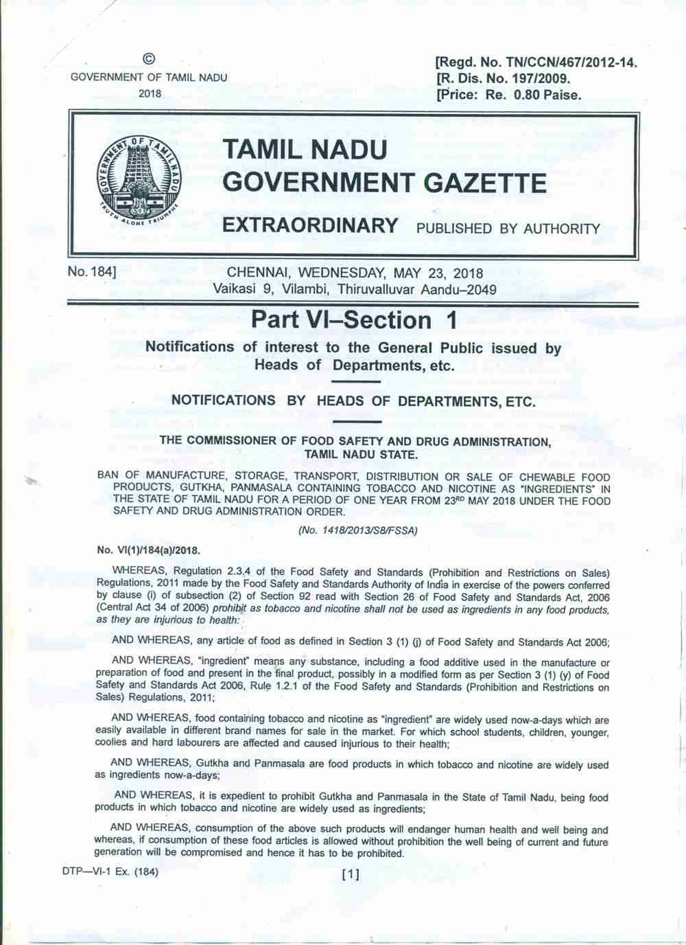Ban Notification of TN dated 23.05.2018_Page_1